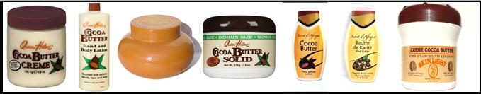 Cocoa Butter, Shea Butter Hand and Body Lotions