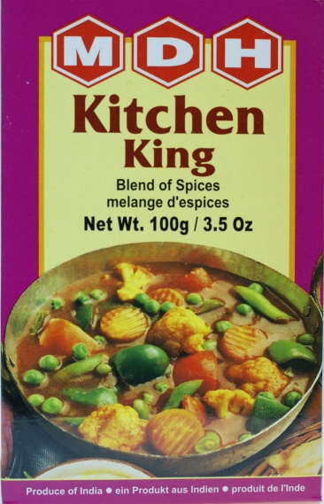 Mdh kitchen king masala 100g indian and african grocery for Kitchen king masala