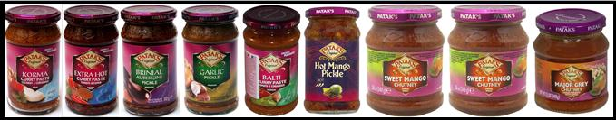 Patak,s Paste, Pickle and Chutney