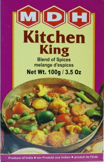 Mdh Kitchen King Masala 100g Indische Gewurzmischung