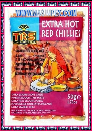 TRS Bird Eye Chilli Hot 50g