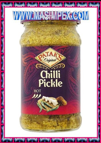 Patak,s Green Chilli Pickle 283g